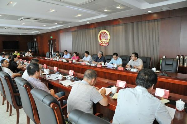 徐州市人大常委会就《徐州市电梯安全管理条例》来我区立法调研