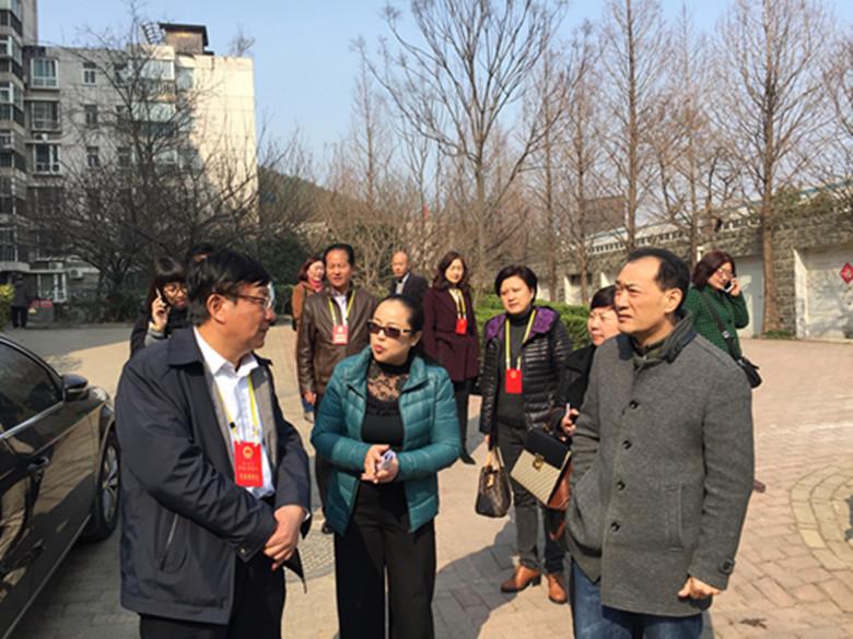 区人大常委会开展《江苏省养老服务条例》执法检查