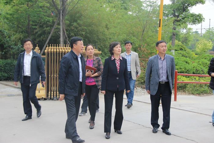市人大领导到庞庄街道检查创文工作