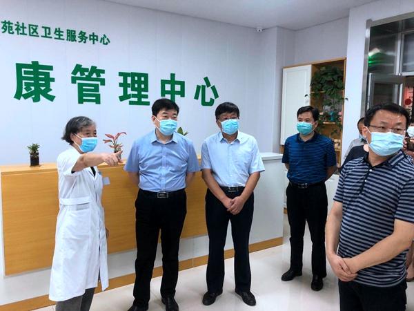 省人大视察调研泉山区流动人口健康管理工作