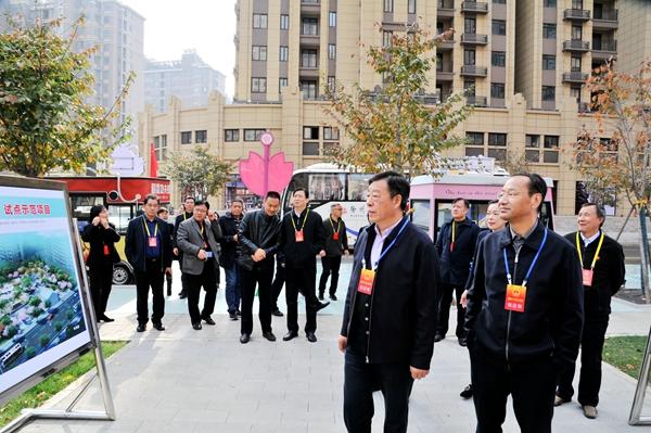泉山区人大常委会视察重点民生实事项目