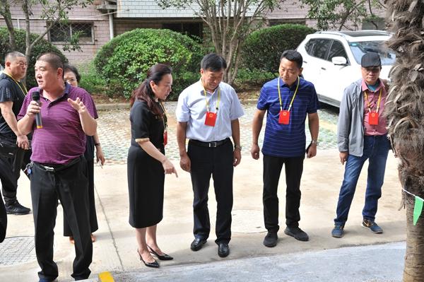 翟山街道人大代表视察民生工程和重点工程建设开展情况